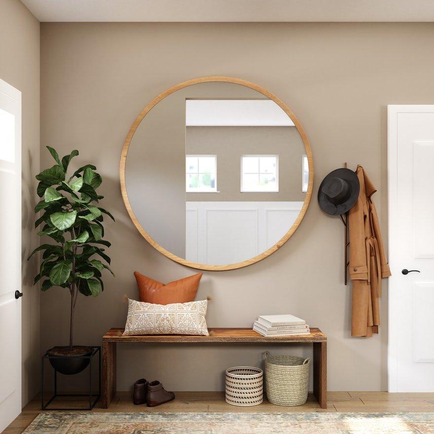 spiegel-muurdecoratie