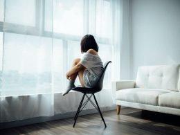 vrouw-eenzaam
