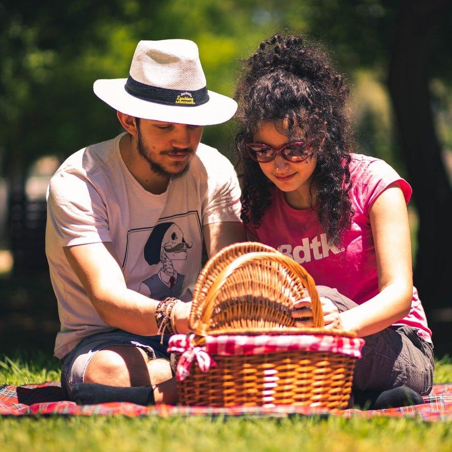 koppel-picknicken