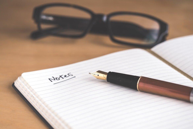 notities-pen-notitieboek